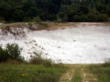 Kvarcni pijesak u Vrtlinskoj na Moslavačkoj gori