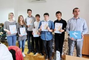 Sudionici Škole mladih riječkih geologa 2015.