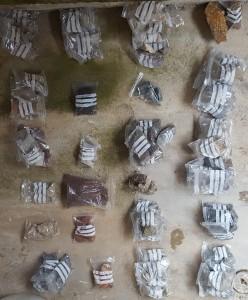 Prikuljeni uzorci 24 vrste stijena