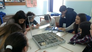 Rad s geološkom zbirkom