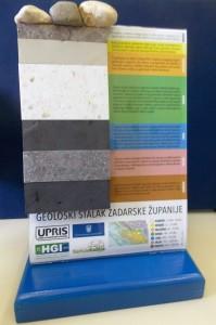 Geološki stalak Zadarske županije