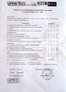 Primjer ankete- Pula