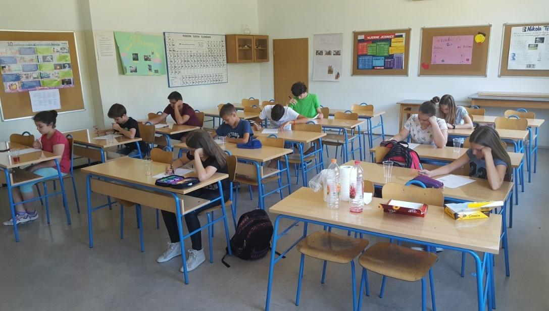 Učenici OŠ Gornja Vežica, Rijeka