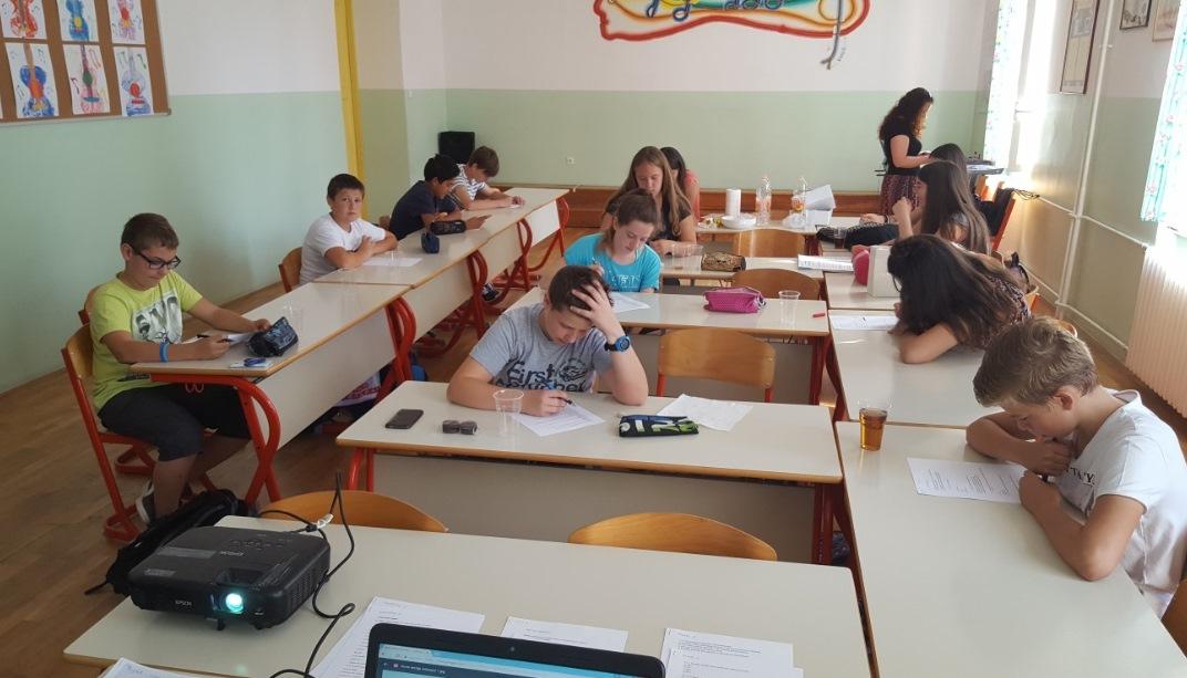 Učenici OŠ Monte Zaro, Pula